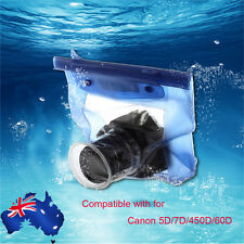 Waterproof Underwater Housing Camera Case Dry Bag for Canon 5D/7D/450D/60D KJ