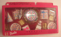 MINIATURES BARBIE DOLL 1999 SPECIAL COLLECTION BIRTHDAY SET FOR DIORAMA VHTF