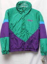 NWT Rare Vtg FILA Magic Line Giubbotto Green Purple Colorblock Jacket Adult Sz M