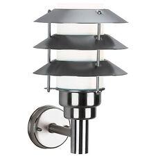 Außenleuchte Außenwandleuchte Außenlampe Edelstahl E27 max. 75W  ALBERT LEUCHTEN