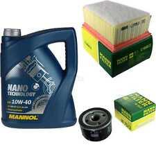 MANNOL 5 L Nano Technology 10W40 MOTORÖL+MANN-FILTER für Renault Clio II 1.6 16V