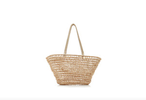KAYU Jean Woven Straw Tote MSRP 165$