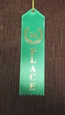 5th Fifth Place green pinewood derby award ribbons lot of 5