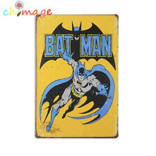 Batman comic Vintage Tin Sign Bar pub home Wall Decor Retro Metal Poster