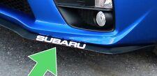 "2015 2016 2017 Subaru WRX / STI ""SUBARU"" decal for front lip X 2- vinyl sticker"