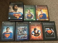 The Christopher Reeve Superman Collection (Region 2) 9 Disc DVD Box Set