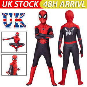 Kids Adult Spider-Man:Far From Home Spiderman Cosplay Costume Suit Outfit IA