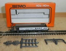 Bemo H0m 2263-2, Low-Sided Wagon Freight Car Barit Ag Der Rhb New in Boxed
