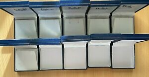 Bulk x 10 Prouds The Jewellers Blue Jewellery Display Gift Box New Without Tag