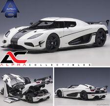 PRESALE AUTOART 79021 1:18 KOENIGSEGG AGERA RS (WHITE/CARBON BLACK) SUPERCAR
