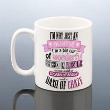 AWESOME AUNTIE MUG Aunt Birthday Mug Aunt Birthday Gift Aunty Cup Auntie Gift