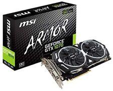 MSI GeForce GTX 1070 ARMOR 8G OC. 1920 Cuda Core PCIE 3.0 8 GB GDDR5