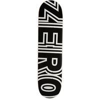 "Zero Skateboard Deck Bold Black 8.0"""