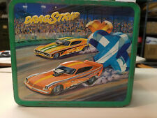 New ListingDrag Strip lunch box Good to Very Good Condition no thermos