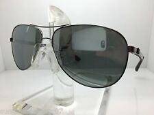 NEW RAYBAN RB8313 004/K6 RB 8313 61MM GUNMETAL/SILVER MIRROR POLARIZED LENS