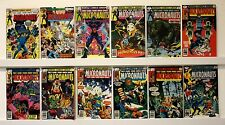 Micronauts lot of 12 comics  VF or better: more better, few worse