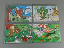 PUZZLE: Looney Tunes (1. Serie) 1997 - Superpuzzle + alle 4 BPZ