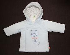 DISNEY BABY manteau blouson bébé bleu WINNIE THE POOH, taille 0-1 mois,  neuf