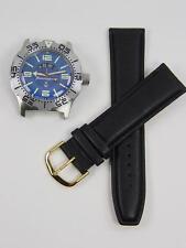 New mod. 12HR Automatic amphibian watch VOSTOK 100m WR 2432 350669 Leather strap