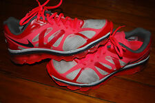 Women's Nike Air Max+ 2012 Hot Punch Siren Red Anthracite Running Sneaker (8.5)