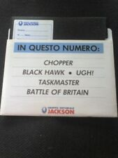 CHOPPER BLACK HAWK UGH! TASKMASTER  BATTLE OF BRITAIN x C64 GRUPPO JACKSON