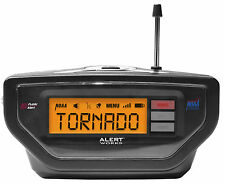 NIB ALERT WORKS Emergency * BLACK * Weather Radio EAR-10 SAME Programmable NOAA