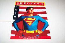#22 EPI-LOG TELEVISION magazine SUPERBOY