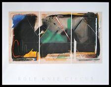 Rolf genou variation I poster image Art Impression avec Cadre Alu en Noir 60x80cm