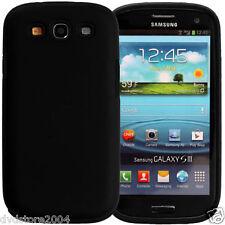 Custodia IBRIDA NERA per Samsung Galaxy S3 I9300 I9300I NEO I9305 Cover Bumper