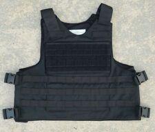 Tactical External Body Armor / Bullet Proof Vest Carrier 21x14 / 26x16 LARGE