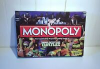 Teenage Mutant Ninja Turtles Nickelodeon Monopoly Family Fun Board Game