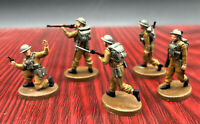 1/72 Resin WWII British Infantry 5 Soldiers Kit FINISHED PRODUCT JD022