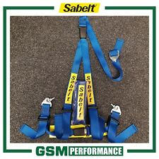 SABELT 3 POINT DOUBLE RELEASE CLUBMAN HARNESS / BLUE