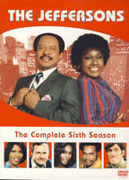 THE JEFFERSONS - THE COMPLETE SIXTH SEASON (BOXSET) (DVD)