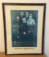 Judaica Poster Print SEVENTH GENERATION Rabbi Menachem Mendel Schneerson 1989
