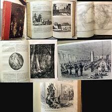 VOYAGE AUTOUR DU MONDE par LE COMTE DE BEAUVOIR _ E. PLON 1878 _ autografato!