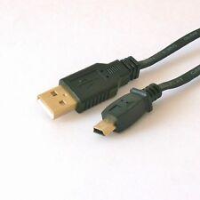 50cm USB 2.0 Hi-Speed Mini-B Stecker 5-polig Flach-Kabel Lade Daten Synchro 0,5m