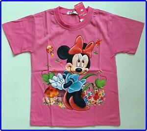 BNWT top Disney Minnie Mouse girls kids cartoon Tshirt new cotton t-shirt size 6