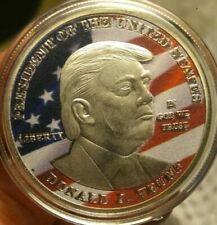 Donald J. Trump 1 oz Silver 45th President. Liberty Eagle coin #7