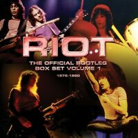 Riot - Riot – The Official Bootleg Box Set Volume 1 – 1976-1980 [New C