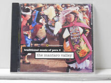Traditional Music of Peru, Vol. 2: The Mantaro Valley by Various Artists CD VG++