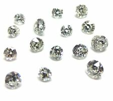 1+ carats 2mm-3mm White ROUND OLD MINER CUT POLISHED DIAMONDS