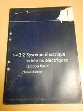 SAAB 9.5 système électrique , schémas électriques 2000 édition finale