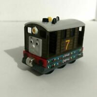 Thomas and Friends TOBY Diecast Train 2002 Magnetic Metal #7 Sodor Carnival Rare