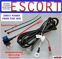 ESCORT, 8500 S50 Radar Detector  Direct Power Cord from Fuse Box (DP-ESCT)