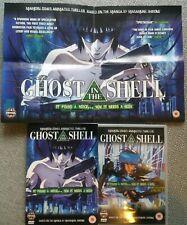 Ghost In The Shell Manga Dvd Inc Slipcase & Mini Poster Vgc