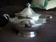 LOVELY REED & BARTON SILVER SOLDERED TUREEN/ EARLY 1900'S