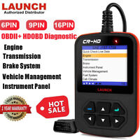 LAUNCH CR HD Heavy Duty Truck OBD2 Diagnostic Code Reader Scanner ABS Braking