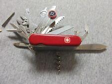 Wenger Delemont Switzerland multi-blade folding knife over 1 1/2 inch wide Lt D