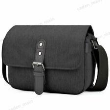 Black Soft Compact Sling Camera Bag Single Shoulder for Canon Nikon Sony DSLR